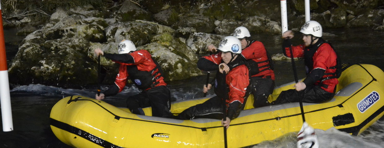 Saisonstart für Rafting Nationalteam