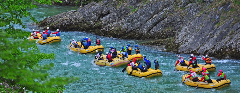 Wildalpen ist bereit für Rafting-Spektakel